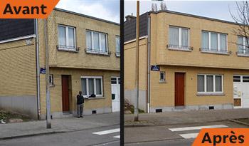 Nettoyage facade maison haute pression